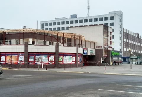 Здание «Евроопта»на Слободе расширяется