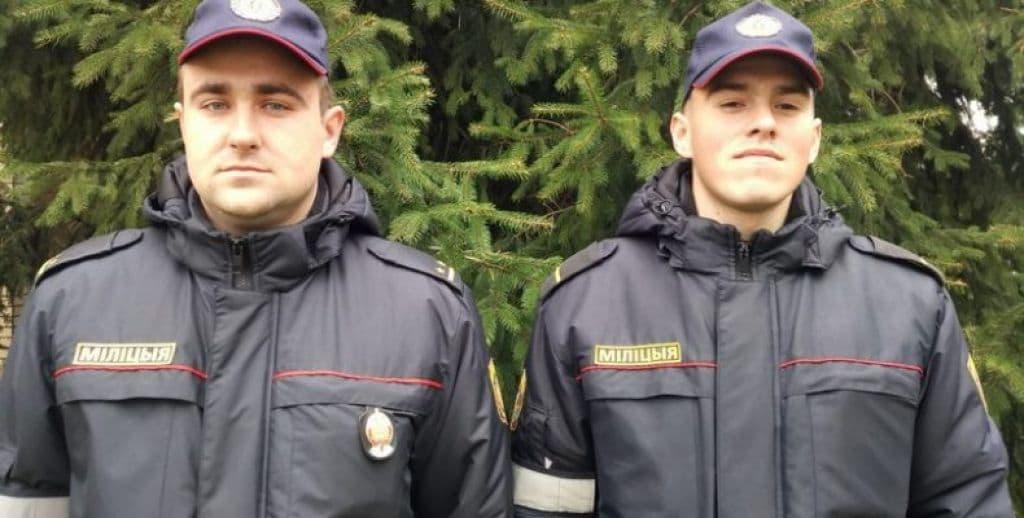 Военнослужащие войсковой части МВД спасли девушку от суицида в Гродно