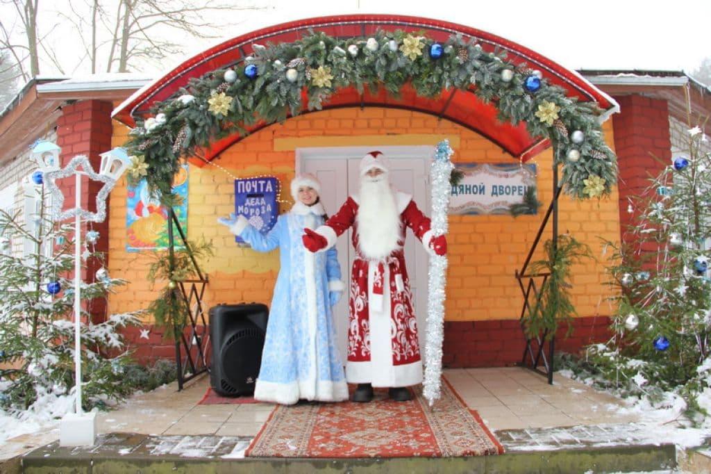 Под Лидой открылась резиденция Деда Мороза