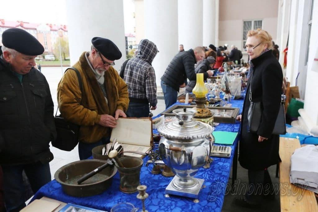 Гродненские коллекционеры готовят вторую открытую ярмарку старины