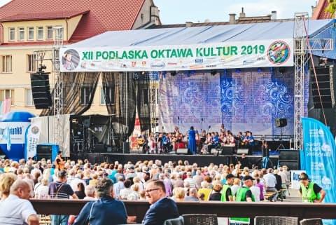 Творчы калектыў Лідскага музкаледжа бліскуча выступіў на фестывалі ў Польшчы