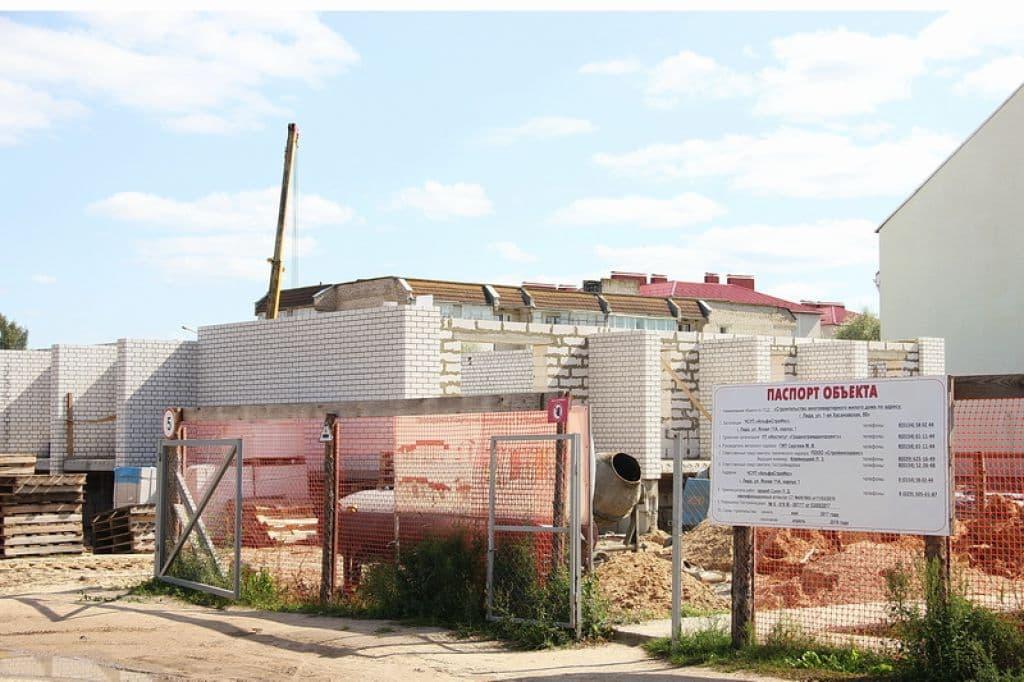 В Лиде построят дом с гаражами для авто жильцов