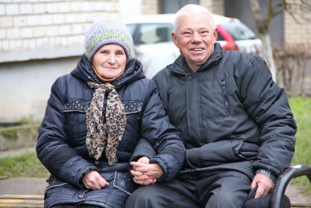 В Лиде поженилась необычная пара. Молодоженам на двоих 160 лет!