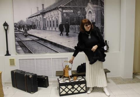 В музее работает выставка-инсталляция «Дорожный попутчик»