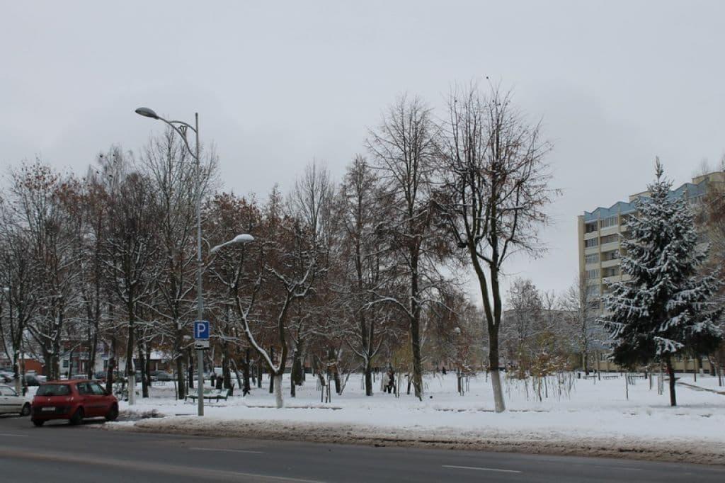 На текущей неделе ожидается мороз и снег