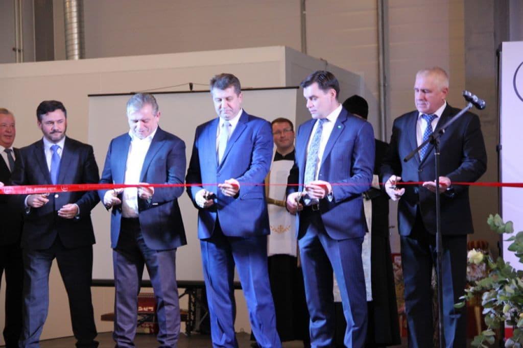 В Лидском районе открыт завод по производству продукции из мяса индейки (фото)