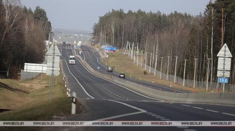 На участках трассы М6 в Гродненской области повышают скоростной режим