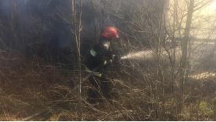 В Ивьевском районе пламя от костра перекинулось на строения