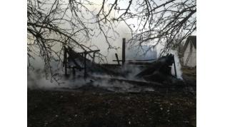 В Лидском районе за минувшие сутки произошло два пожара