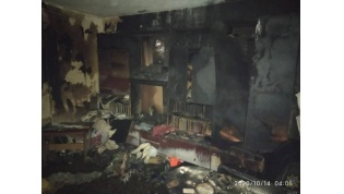Пожар в многоэтажке в Гродно. Спасатели эвакуировали жильцов