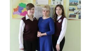 Сразу две ученицы педагога школы №15 Екатерины Гущинской стали победителями республиканской олимпиады по обществоведению