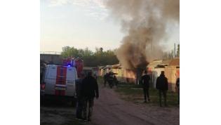 В Лиде снова горел гараж