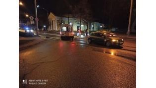В центре Лиды под колеса авто попал пешеход