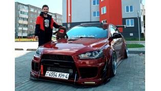 Лидчанин – о своей шикарной Mitsubishi Lancer